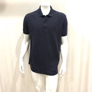 Lacoste Mens Navy Blue Slim Fit Polo Shirt